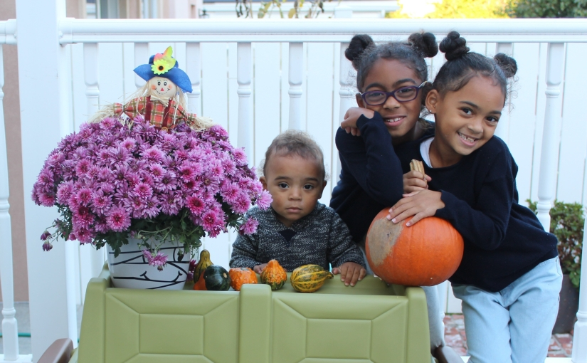 How to include the kids in Fall Home Decor