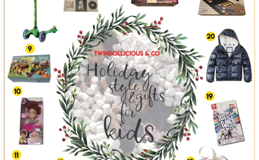 TwinDollicious & Co Kids Holiday Style and Gift Guide